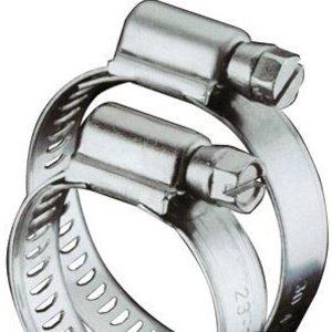 Aquaking RVS Slangklem 21 x 38 mm