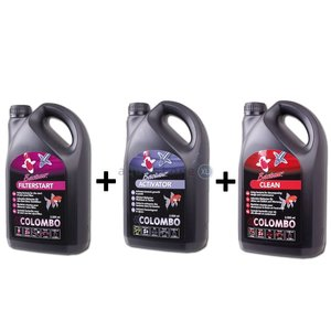 Colombo 1x 2500ml clean + 1x 2500ml start +1x 2500ml activator