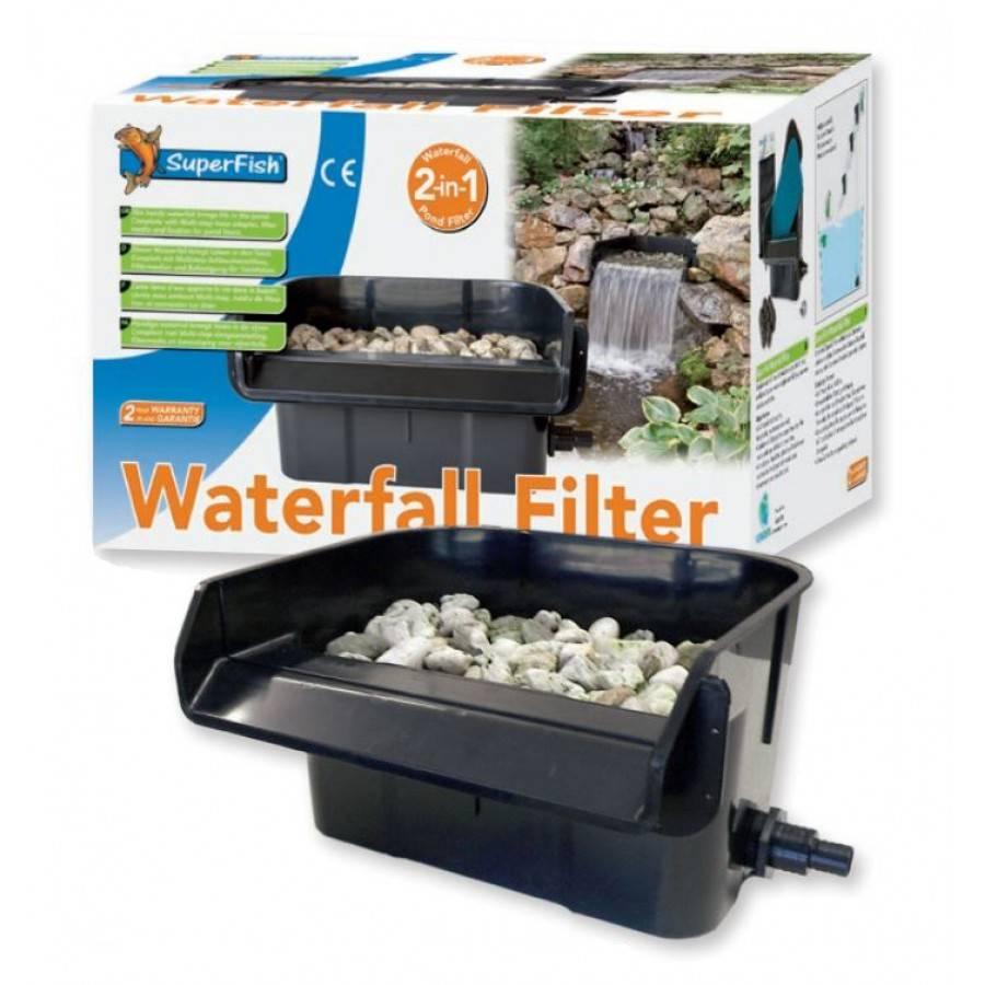 Superfish waterval filter aquastorexl for Filtros para lagos artificiales