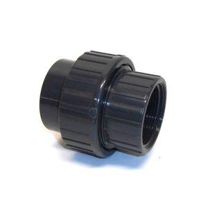PVC 3 Delige koppeling 2x binnendraad ¾