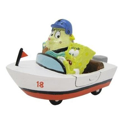 PENN PLAX Mrs Puff and Spongebob in a Rowboat