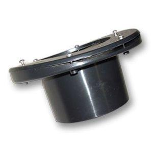 AquastoreXL Tank/folie connector voor rondvat 110 mm zware kwaliteit