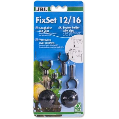 JBL FIXSET SET UNIVERSELE ZUIGNAP MET KLEM 12/16 MM