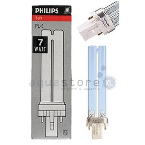 Philips UVC PL vervangingslamp 7 Watt Philips