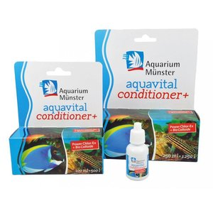 Aquarium Munster Aquavital conditioner+ 100 ml