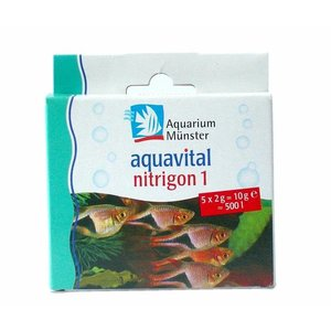 Aquarium Munster Aquavital nitrigon  1, 5 x 2 g