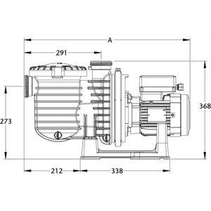 Sta-rite Zwembadpomp 63 mm lijmmof 230V type 5P6RD-1 0,75pk