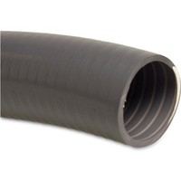 Mega Zwembadslang PVC 43 mm x 50 mm 6bar grijs type Poolflex