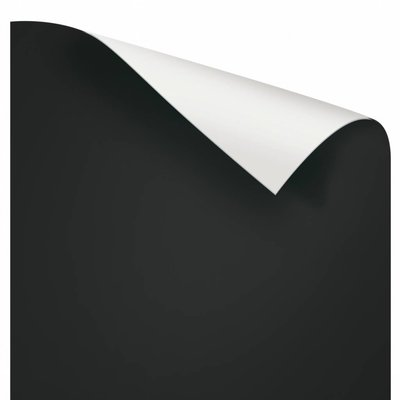 Juwel POSTER 3 S 60X30 CM TWEEZIJDIG ZWART/WIT