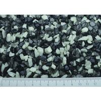 Superfish aquarium grind mix wit-zwart-grijs 1 kg