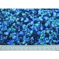 Superfish aquarium grind mix blauw 1 kg
