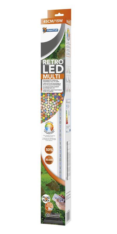 Retro LED Multi 60 cm/ 18 watt - AquastoreXL