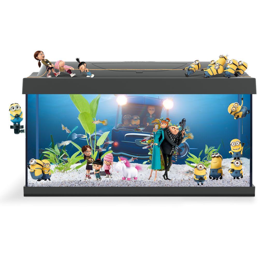 minion led aquarium 54 liter aquastorexl. Black Bedroom Furniture Sets. Home Design Ideas