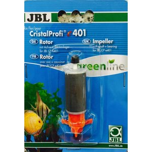 JBL CP E401 E402 ROTOR MET AS + RUBBERLAGER GREENLINE
