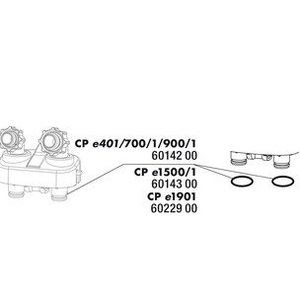 JBL CP e1500-1-2 O-ring Dichting aansluitblok