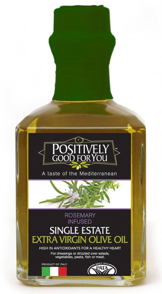 Positivelygoodforyou Rosemary Infused Extra Virgin Olive Oil - GOURMET ...