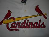 majestic st louis cardinals mlb baseball honkbal jersey shirt majestic white