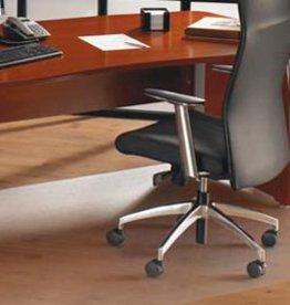 Floortex Ecotex Stoelmat harde vloer recycled recht groot