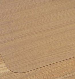 Floortex Cleartex bureaustoelmat Stoelmat harde vloer Polycarbonaat recht groot