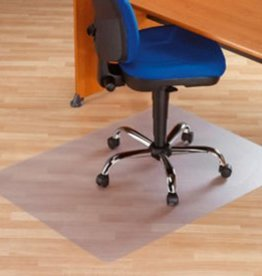 Our Choice Stoelmat harde vloer PVC recht