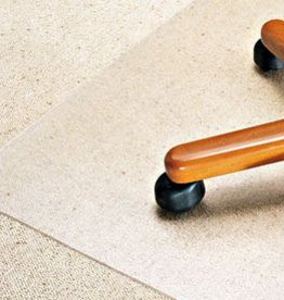 Our Choice Stoelmat tapijt vloer PVC recht groot