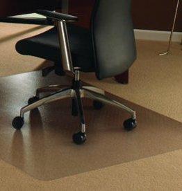Floortex Cleartex bureaustoelmat Stoelmat tapijt vloer Polycarbonaat recht groot