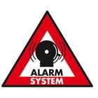 König sticker alarm system 123x148 mm