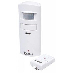 König bewegingsmelder met alarm 130 dB