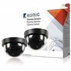 König SAS-DUMMYCAM50 CCTV dummy dome binnencamera
