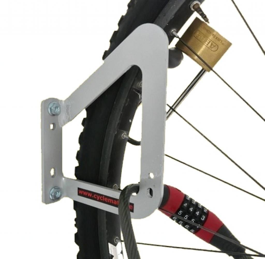 Crochet de v lo avec la possibilit de fermer avec un cadenas fix fork cyclemate - Cadenas pour velo ...