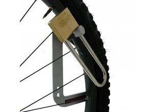 Bicycle Hook with the possibility of closing with a padlock