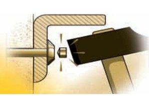 Kit of 2 Anti-Theft Screws TORX  7 X 60 mm