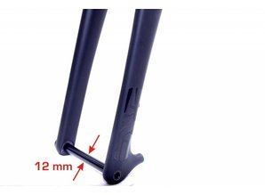 FIX-FORK Thru Axle 12-100 mm (= QR12)