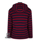 Shakaloha Split Ziphood Navy Red