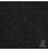 Shakaloha Stevig luxe vest van wol Chuck Ziphood Antracite