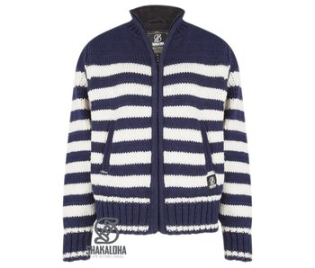 Shakaloha Woman Sailor Jacket MarineWhite