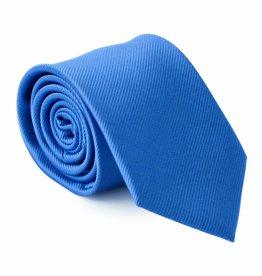 Stropdas kobalt-blauw, zijde