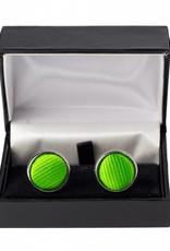 Groene manchetknopen