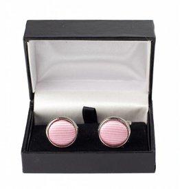 Roze manchetknopen