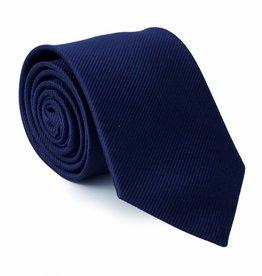 Stropdas marine-blauw, zijde