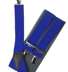 Kobalt blauwe bretels