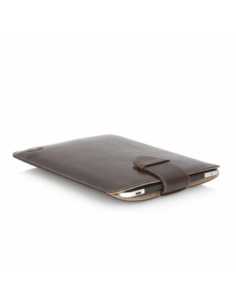 Castelijn en Beerens Castelijn en Beerens Gaucho Ipad Sleeve Mocca Leren Tablet Hoes Ipad Apple