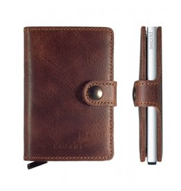 Secrid Secrid Mini Wallet Vintage Brown pasjeshouder