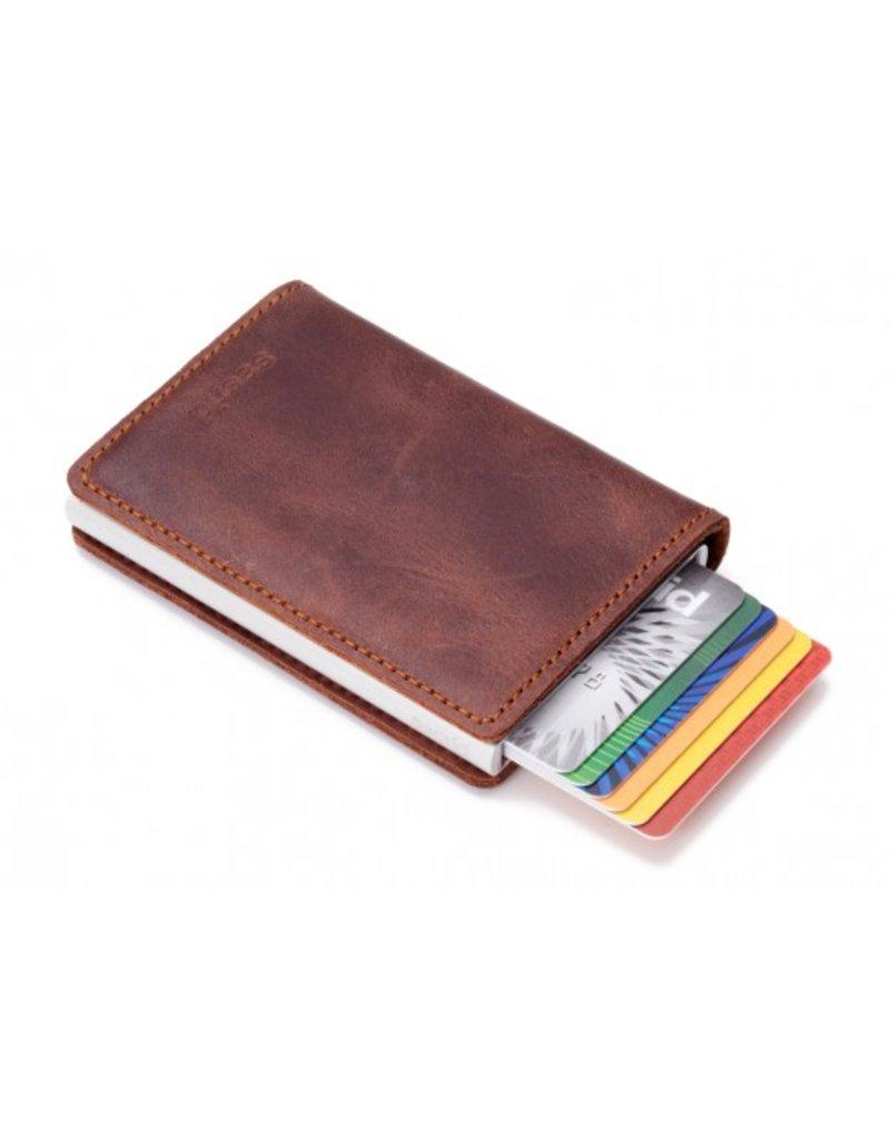 Secrid Slim Wallet Vintage Brown Pasjeshouder