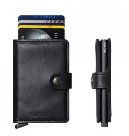 Secrid Secrid Mini Wallet Vintage Black pasjeshouder