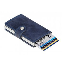 Secrid Secrid Mini Wallet Card Protector Vintage Blue