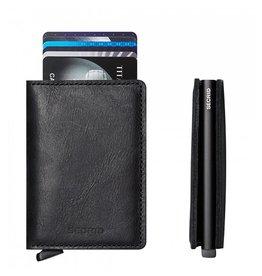 Secrid Secrid Slim Wallet Vintage Black pasjeshouder