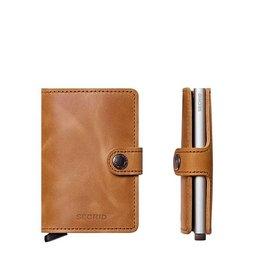 Secrid Secrid Mini Wallet Vintage Cognac pasjeshouder