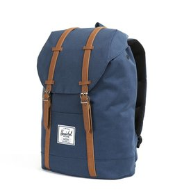 Herschel Herschel Retreat Navy rugzak met laptopvak