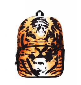Mojo Mojo Backpack Tiger Collage schooltas met tabletvak